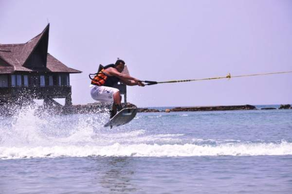Enjoy the water sports